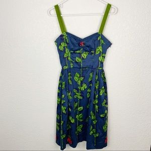 Vintage Betsey Johnson Floral Dress 4